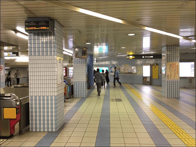 長堀橋駅北改札