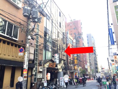 一風堂長堀店・CoCo壱番屋南船場三丁目点