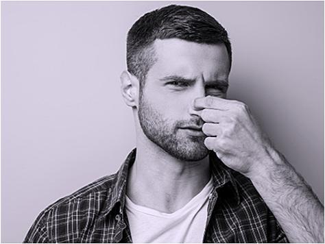 男性の汗臭・ミドル脂臭・加齢臭について