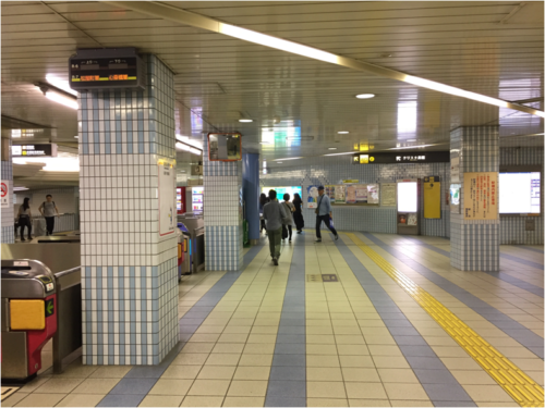 堺筋線・鶴見緑地線長堀橋北改札