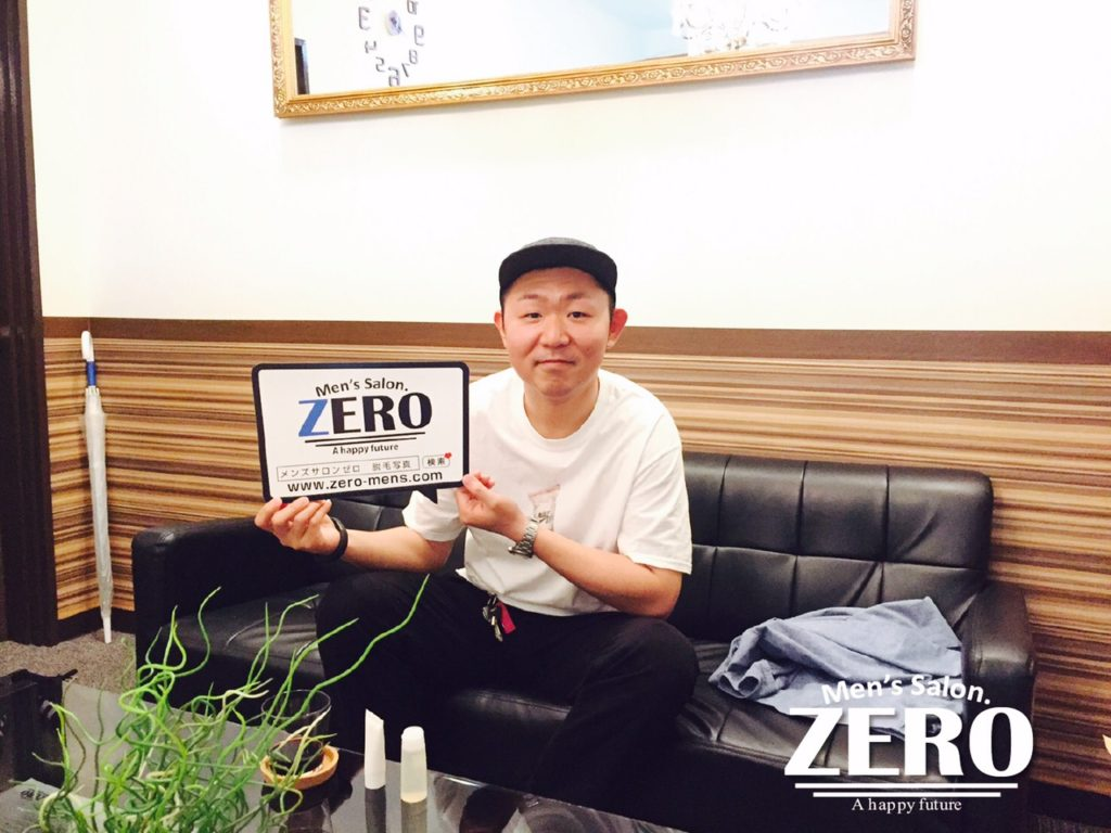 メンズ脱毛アンケート、大阪府大阪市中央区在住、会社経営、32歳