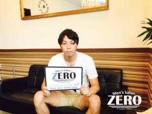 メンズ脱毛アンケート、大阪府松原市在住、スポーツショップ店員、28歳