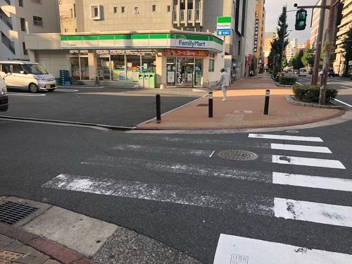 ファミマ-平和通駅からゼロ小倉