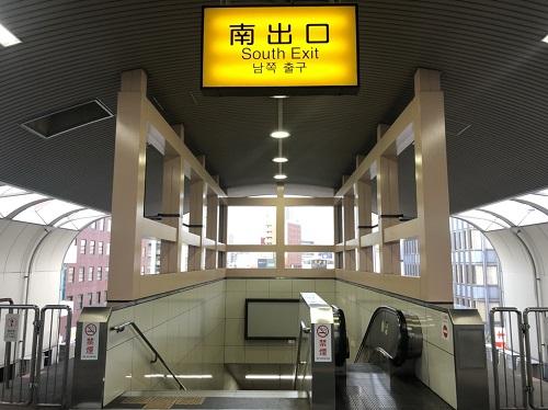 平和通駅南出口-平和通駅からゼロ小倉
