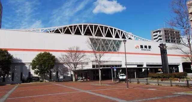 JR箱崎駅からメンズサロンゼロ博多店まで